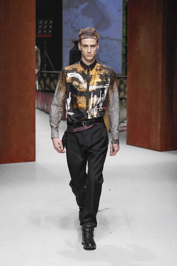 best website 32262 d8060 Milano Moda Uomo F/W 2014-2015: Roberto Cavalli - Sposi Magazine