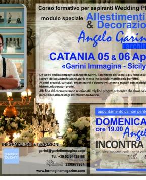 Wedding planner, a Catania un corso con Angelo Garini