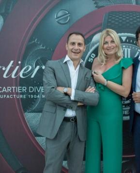 Taormina, presentato il nuovo Calibre de Cartier Diver