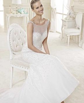 Sposa 2015, l'abito brilla come un gioiello
