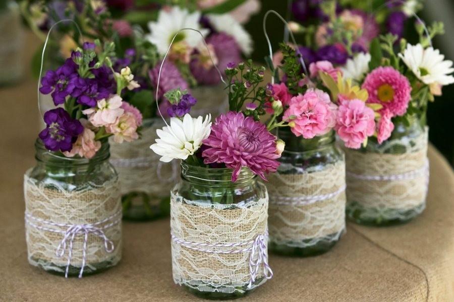 Idee Per Il Matrimonio Fai Da Te : Matrimonio idee fai da te decorare riciclando il vetro sposi