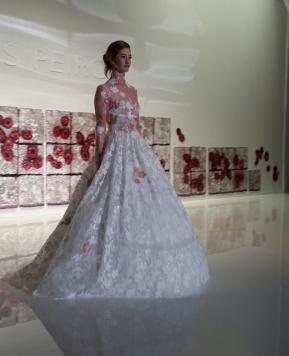 #Barcelona Bridal Fashion Week 2016, in diretta la collezione 2017 di Jesús Peiró