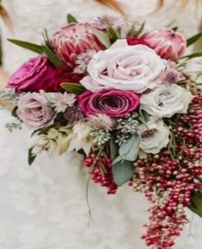 Bouquet a cascata, un vero tocco di classe