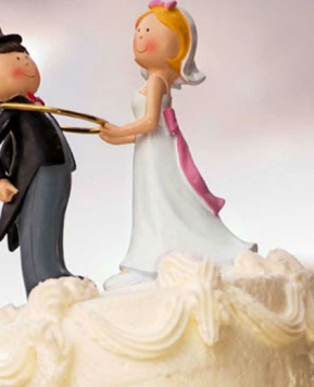 Cake Topper: romantico o ironico?
