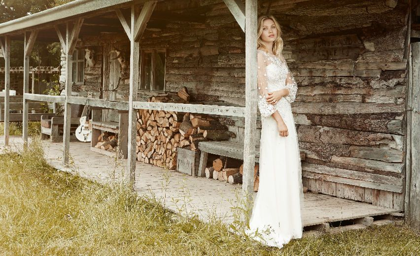 Matrimonio Gipsy Stilista : Jenny packham e la sua sposa dallanimo gipsy sposi magazine