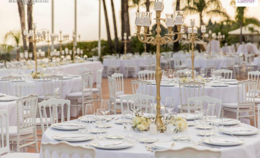 Matrimonio In Bianco : Golden effect» loro protagonista degli allestimenti di angela