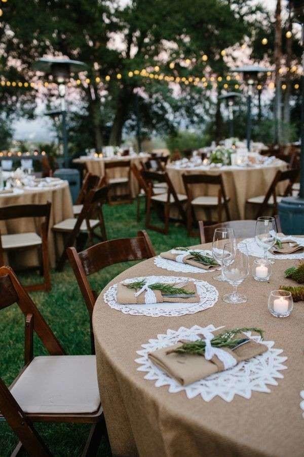 Matrimonio In Stile Country Chic : Tavoli da matrimonio idee per decorazioni originali sposi magazine