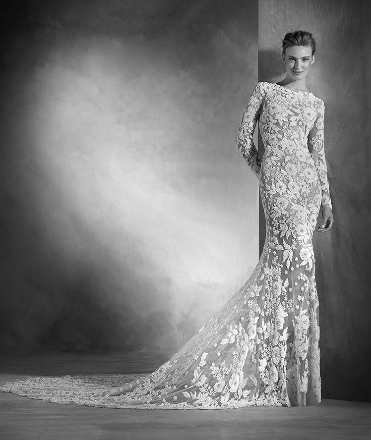 10a07a558314 Sensuale è la sposa che punta all effetto tattoo - Sposi Magazine