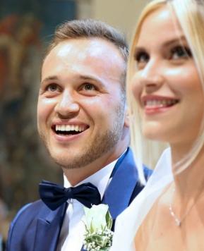 Nozze a tema mare: Anna Frascisco sigla l'amore di Gloria e Marco
