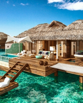Sandals Resorts, ai Caraibi le prime ville sull'acqua «luxury included»