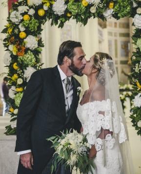 Un amore Barocco, il sì di Fabrizia e Luigi porta la firma di Maria Macchiarella