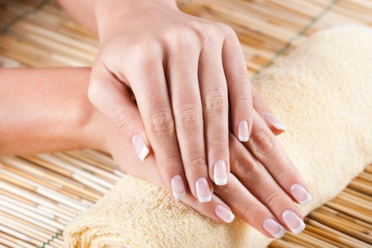 Female hands