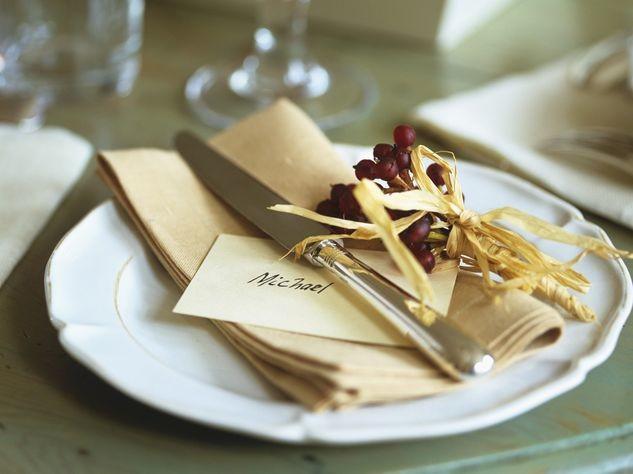 Segnaposto Matrimonio Natalizio : Segnaposto natalizio l accoglienza inizia dalla tavola