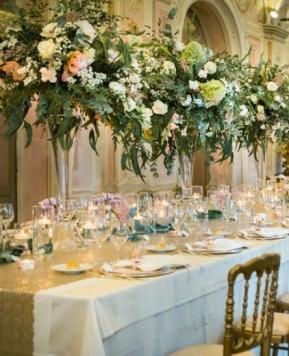 Atmosfere romantiche per nozze a prova di… Candele!