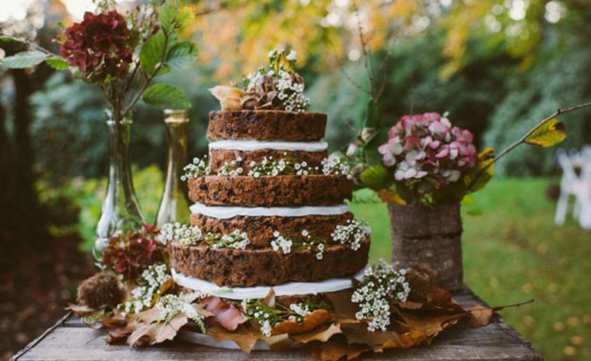 Naked cake, l'elegante «nudità» della torta nuziale - Sposi Magazine