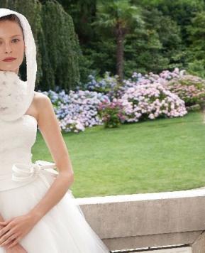 Maxi o sottile, il fiocco è protagonista dell'abito da Sposa 2017