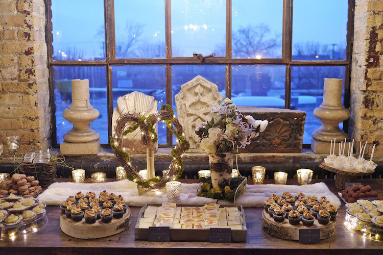 Sweet Table - Idee per un matrimonio in inverno