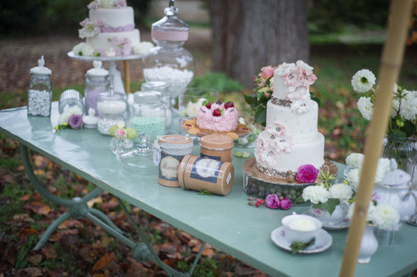 Sweet Table - Matrimonio vintage ispirato al the