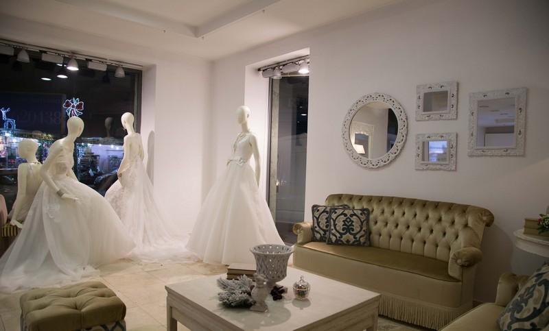 Un angolo dello showroom di Caserta di Maison Signore