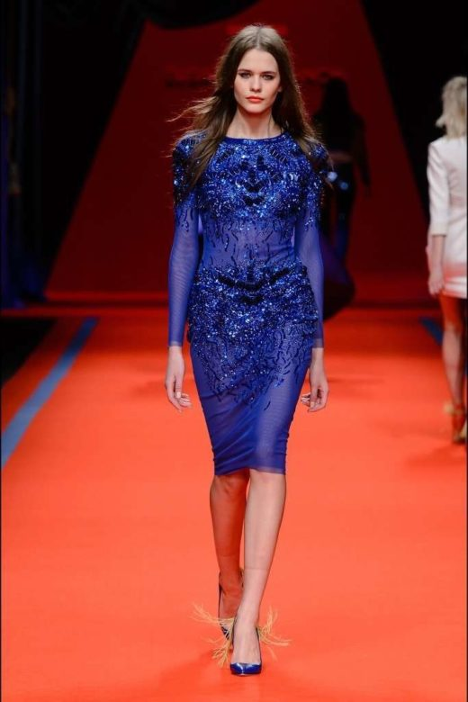 vestito-blu-elisabetta-franchi