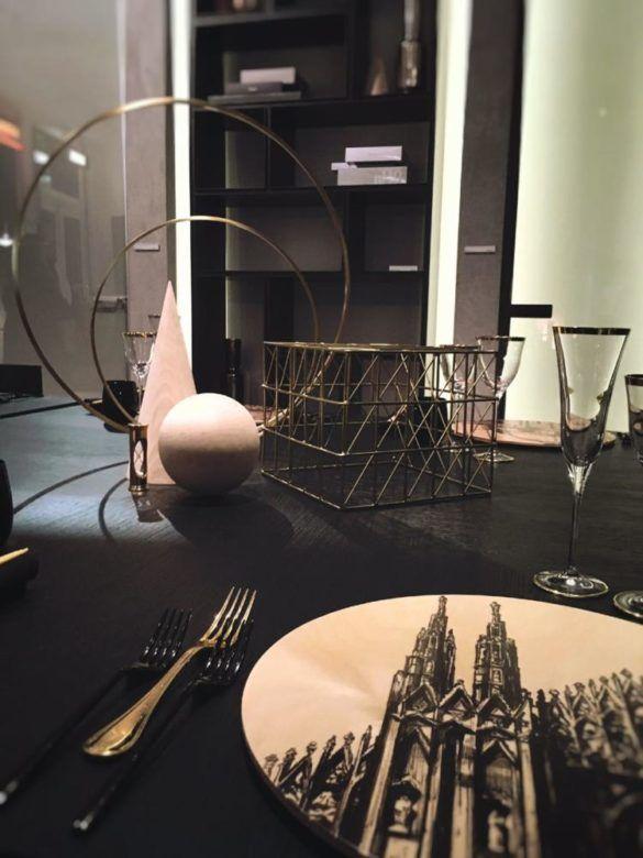 New York, Giorgia Fantin Borghi firma 4 «mise en place» per Dom Interiors