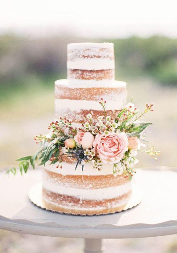 Matrimonio E Un Tocco Di Classe La Torta Nuziale Con I
