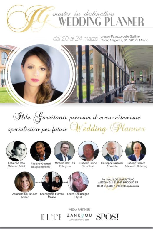 Locandina Master Destination Wedding Planner