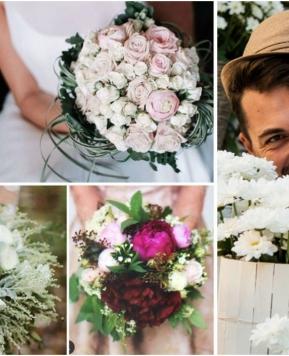 Il flower designer Alberto Menegardi in Sicilia: in diretta l'allestimento floreale di un tavolo per dolci