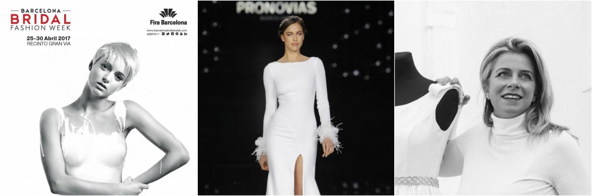 Dal 25 al 28 aprile le sfilate della Barcelona Bridal Fashion Week