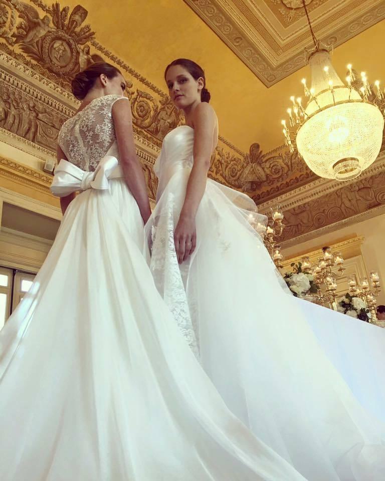 selezione premium 9a7b7 6ffe0 Abiti da sposa 2018 Giuseppe Papini: