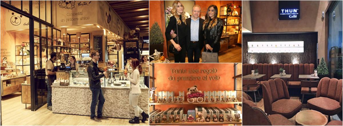 A Milano il primo Thun Caffè d'Italia