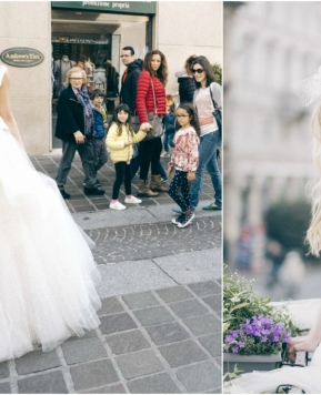 Atelier Le Spose di Giò, pomeriggio tra prove d'abiti e consulenze di esperti