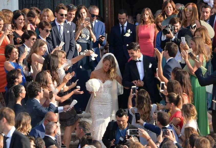 Matrimoni vip 2017_Alvaro Morata e Alice Campello