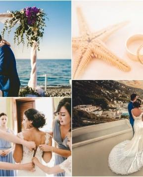 Matrimonio in un'isola, le nozze da sogno di Lucia e Nealle a Lipari