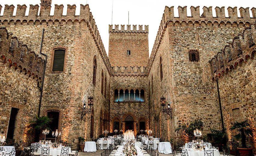 Matrimonio In Epoca Romana : Castelli per matrimonio e dimore storiche ecco i luoghi più belli d