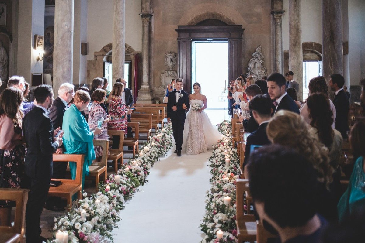 Matrimonio in un vigneto