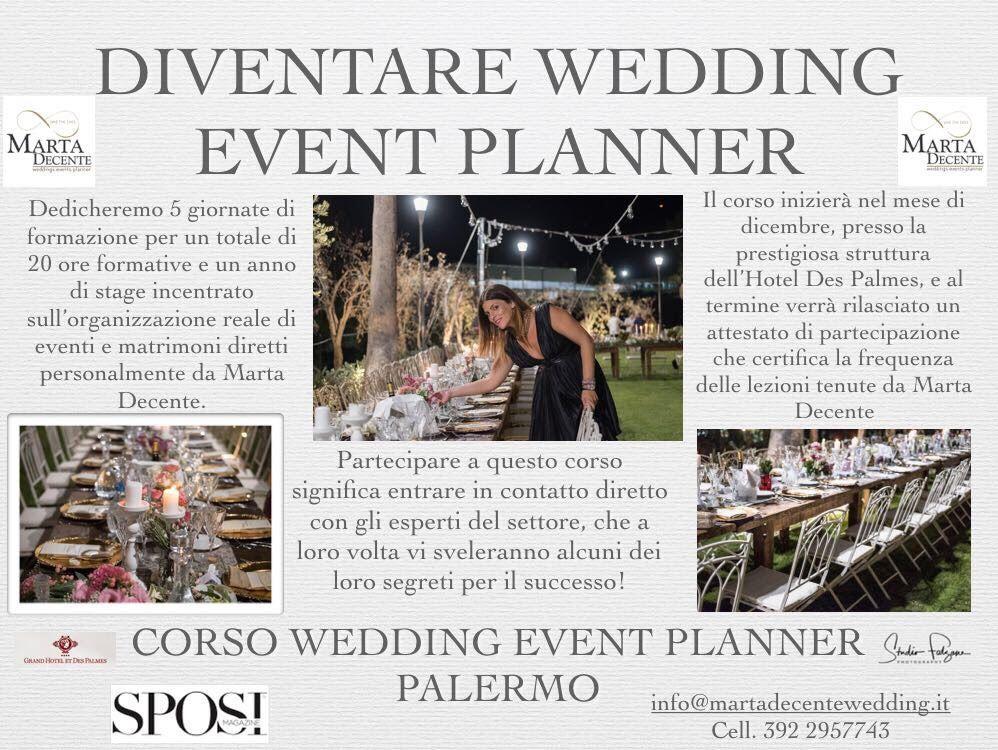 Corso per wedding planner
