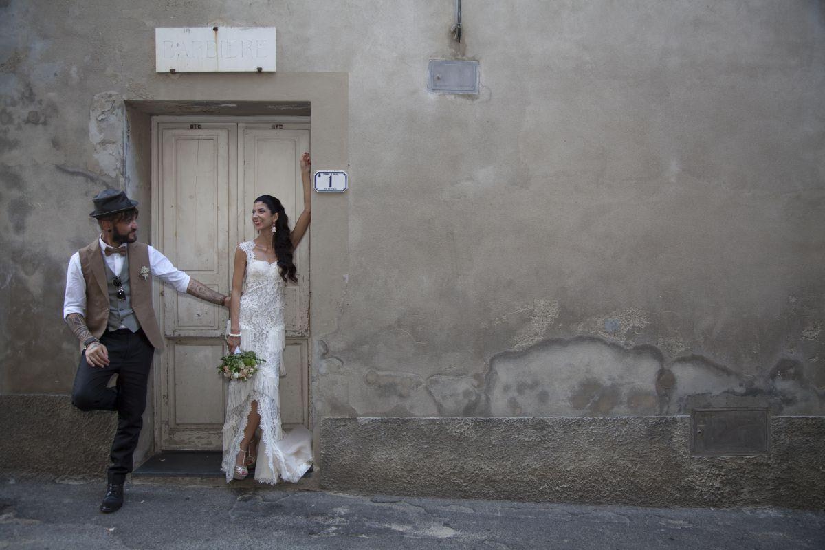 Abito da sposo realizzato su misura dall'atelier Gabriella Spose