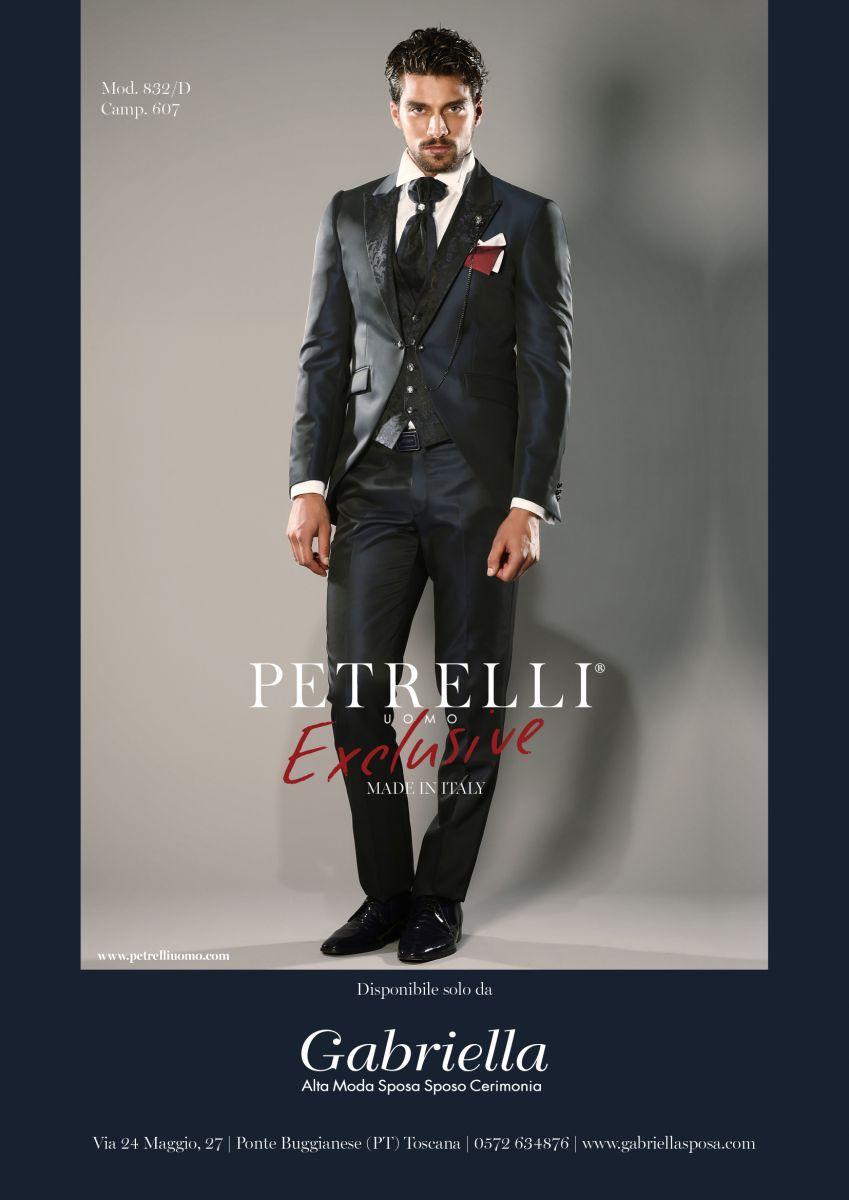 Il modello disegnato da Petrelli per Gabriella Sposa della collezione abiti  da sposo 2018 55d5a6593b5