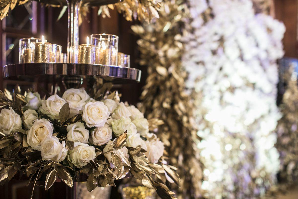 Orchidee e candele per il party organizzato da Anna Frascisco per Vami Luxury Rent