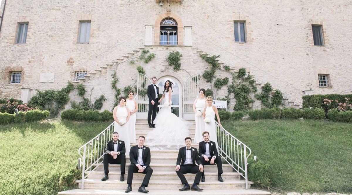 Matrimonio Simbolico Hawaii : Matrimonio in un castello le nozze glamour di natalie e terry in