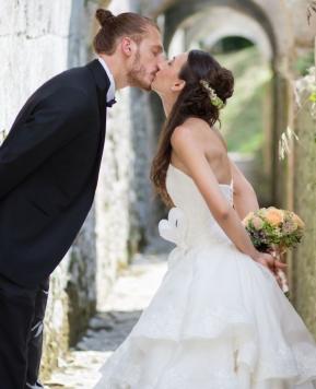 Matrimonio in stile medievale: la fiaba di Jessica e Lorenzo