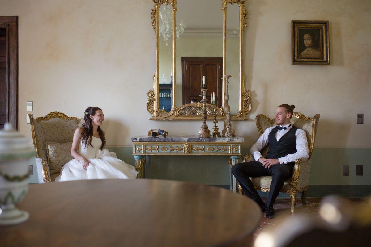 Matrimonio in stile medievale per Jessica e Lorenzo. La location wedding? Ovviamente un castello... medievale