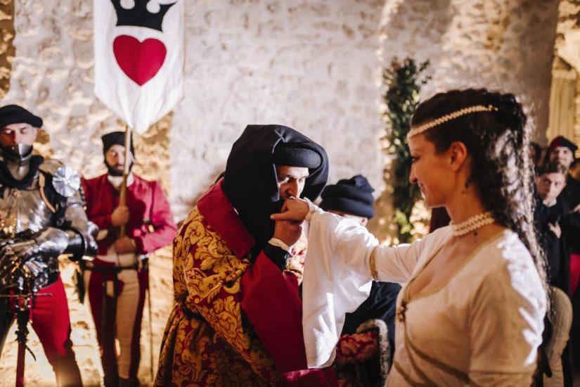 Castello di Montignano matrimonio medioevale 050