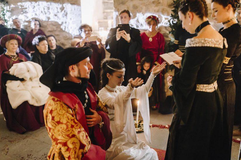 Castello di Montignano matrimonio medioevale 053