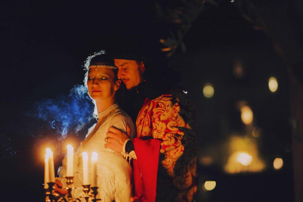 Castello di Montignano matrimonio medioevale 094
