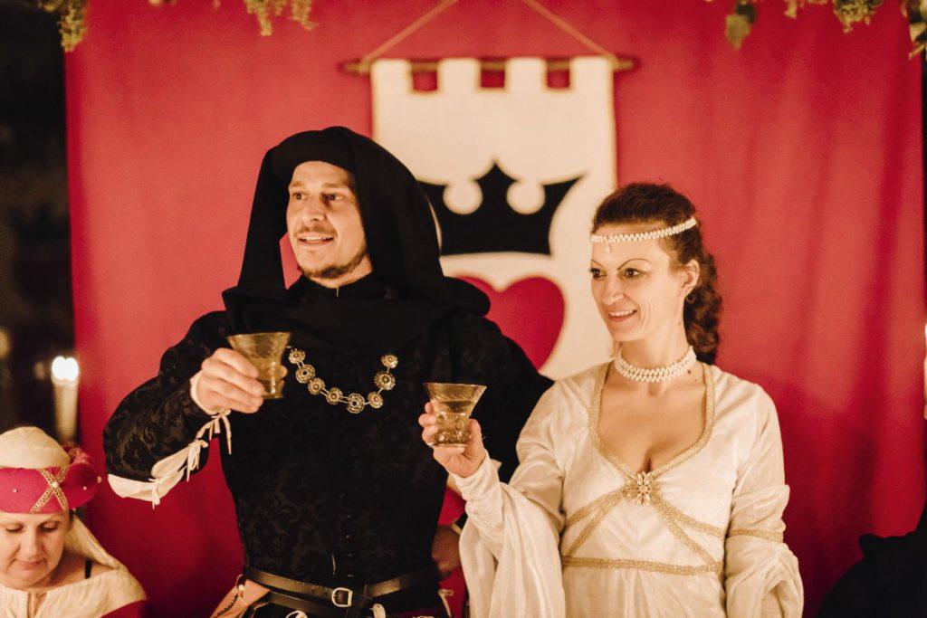 Castello di Montignano matrimonio medioevale 117