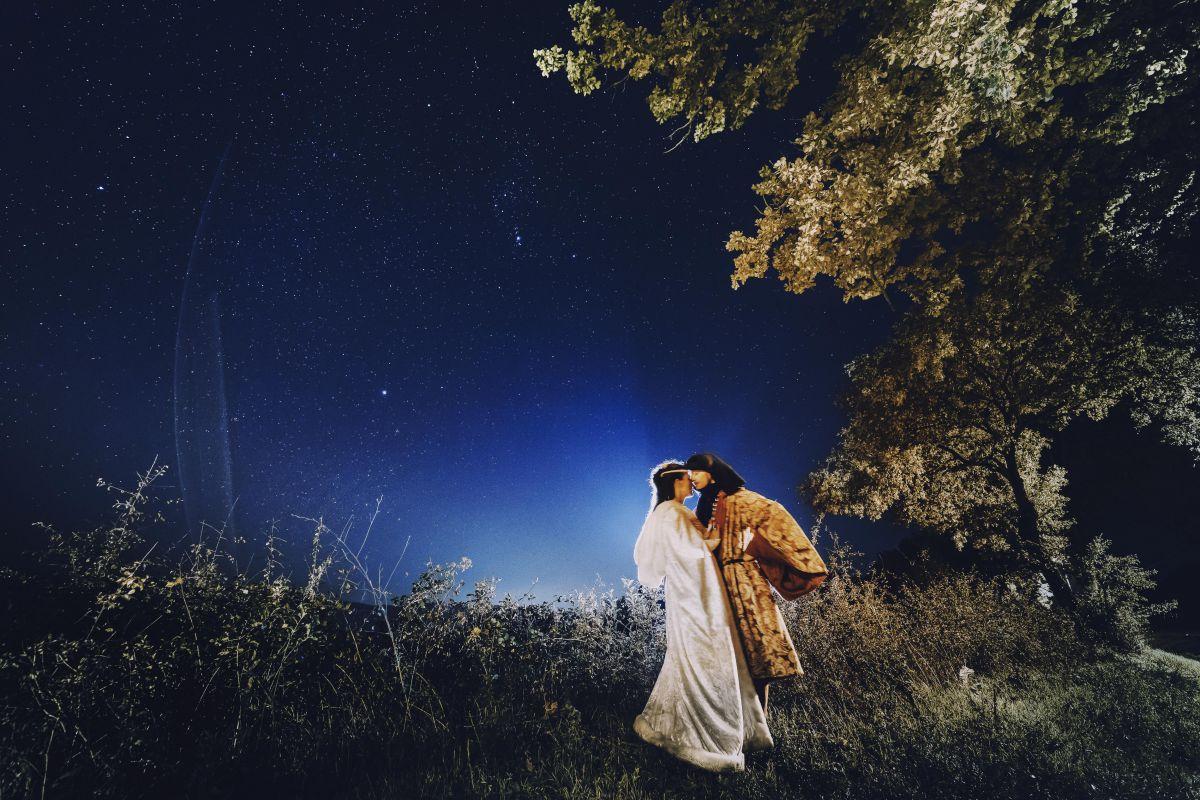 Il matrimonio medievale di Roberta e Alessandro al Castello di Montignano