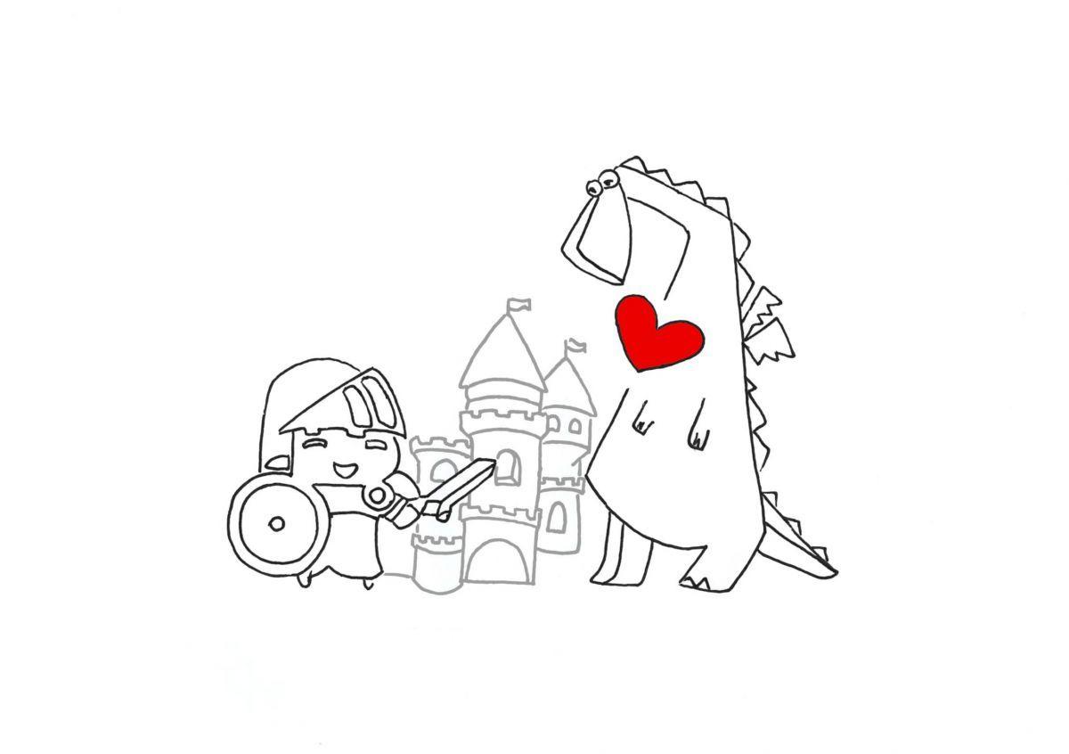 La grafica utilizzata per le partecipazioni e le bomboniere del matrimonio in stile medievale organizzato da Cristina Orsatti
