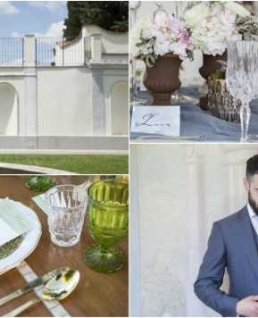 The Italian Wedding Workshop, le foto dello shooting realizzato durante il corso in Wedding Set